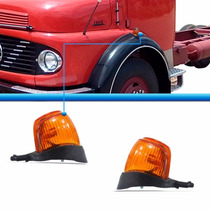 Par Pisca Paralama Caminhão Mercedes 1111 1113 1313 1513