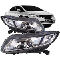 Par Farol Honda New Civic 2012 2013 2014