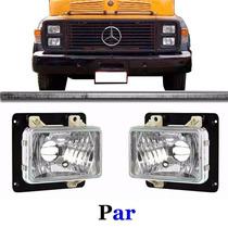 Par Farol Caminhão Mercedes 1113 1313 1513 1519 Alto Liso