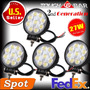 Farol De Led 27w 5 Jeep Troller Quadriciclos Atv Willys