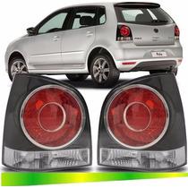 Lanterna Traseira Fume Polo Hatch 2008 2009 2010 2011 2012