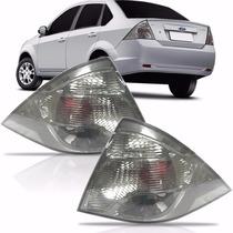Lanterna Ford Fiesta Sedan Fumê 2010 2011 2012 2013 Dir Esq