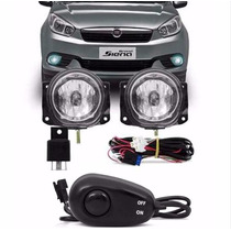 Kit Farol De Milha Grand Siena 2012 A 2014 + Sup + Bt Alter