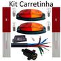 Kit Instalação Eletrica Carretinha 4 Metros Cabo Lanternas