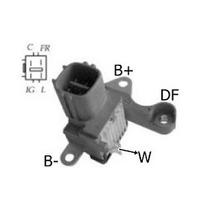 Regulador Voltagem Toyota Hilux Com Alternador Denso Atm