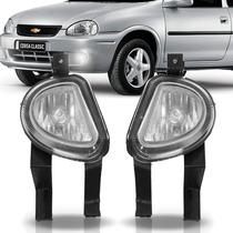 Par Farol Milha Corsa 2000 01 2002 Classic Pick Up Ou Sedan