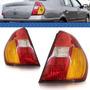 Lanterna Traseira Clio Sedan 2007 2006 2005 2004 03 Tricolor