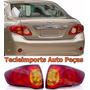 Par Lanterna Traseira Toyota Corolla Ano 2009 2010 2011 Novo