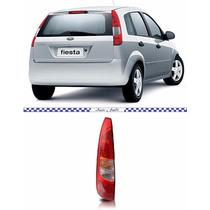 Lanterna Fiesta Hatch 2003 2004 2005 2006 Nova Lado Esquerdo