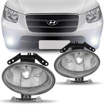 Farol Milha Hyundai Santa Fe 06 07 08 09 10 Auxiliar Neblina