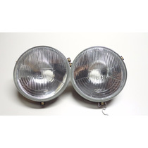 Farol Tipo Fusca Sealed Beam 180mm Original Cibie Par