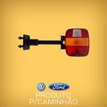 Lanterna Traseira Caminhão Vw/ Ford Com Suporte