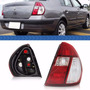 Lanterna Traseira Clio Sedan 2003 2004 2005 A 2010 Bicolor