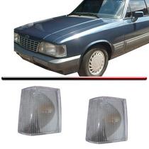 Par Lanterna Dianteira Pisca Opala Caravan 88 Até 92 Cristal