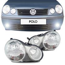 Par Farol Polo 2003 2004 2005 2006 Cromado