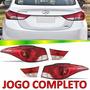 Jogo Lanterna Traseira Hyundai Elantra 2012 2013 2014 2015