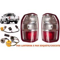 Lanterna Ranger 2010 2011 2012 + Par Soquete Chicote