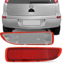 Refletor Olho Gato Parachoque Corsa Hatch 2002 A 2011 Ld