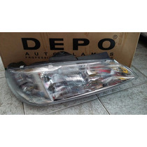 Farol Peugeot 406 Duplo - 97 98 99 Kaue Parts