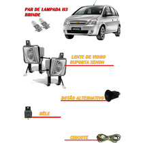 Kit Farol Milha Neblina Chevrolet Meriva Bt Alter+kit Xenon