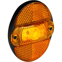 Lanterna Lateral Caminhão Com Refletivo Led Bivolt 7.117
