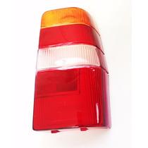 Lente Lanterna Traseira Fiorino Elba 85 A 03 Tricolor