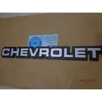 Emblema Chevrolet Porta-malas Opala Comodoro 1985-1990