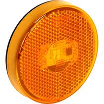 Lanterna Lateral Caminhão Com Refletivo Led Bivolt 7.118