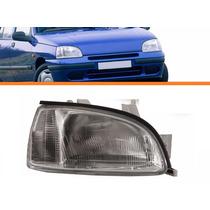 Farol Renault Clio 96 97 98 99 Lado Direito