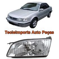 Farol Toyota Corolla Ano 1999 2000 2001 2002 Lado Esquerdo