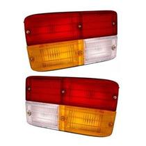 Par De Lentes Das Lanternas Traseiras Fiat 147 Tricolor