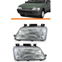 Farol Peugeot 405 94 95 96 97 Simples Par