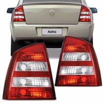 Lanterna Traseira Astra Sedan 04 / 12 Bicolor Esquerda