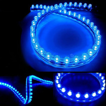 Fita De Led Neon 96cm Azul A Prova D