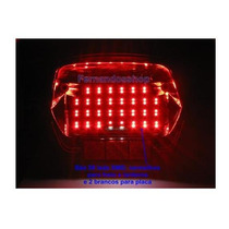 Placa De Leds P/ Honda Twister Cbx 250 Com 60 Leds Smd
