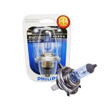 Lampada Philips H4 12v 60/55w Blue Vision.