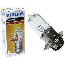 Lampada Farol Biz 100 /125 / Bros Philips Qualidade Original