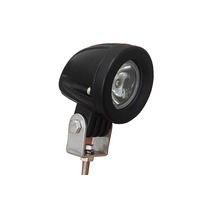 Farol Mini Milha Auxiliar Moto Big Led Metal Universal 12v