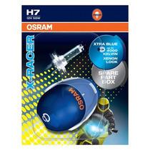 Par Lâmpada Osram Night Racer X Racer H7 12v 55w Cool Blue !