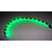 Fita De Led Verde 30 Cm A Prova Dagua Magnetron