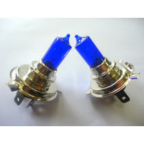 Lampada De Farol M. Xenon Azul Yamaha Fazer Ybr 125 / Factor