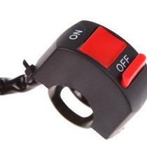 Interruptor Para Guidão De Moto, Para Farol Auxiliar Milha