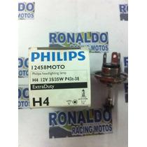 Lâmpada Do Farol Ybrfazer 150 H4 12v 35/35w Original Philips