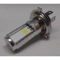 Lampada Led H4 P/ Motos Super Branco Efeito Xenon 6000k