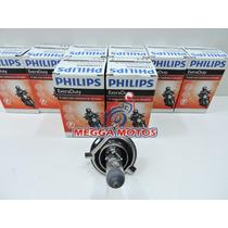Lampada Farol H4 35x35 Philips Original Fazer Ybr Xtz Dafra