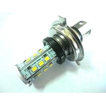Lampada Farol Moto De Led H4 Xtz 125 Cbx 200 Factor