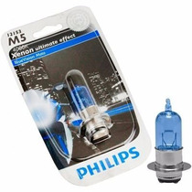 Lâmpada Philips M5 Blue Moto Vision 4.000k Biz / Bros / Neo