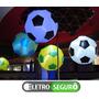 Iluminação Inflável Sputnik Bola De Futebol Decorativa