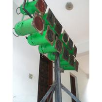 Iluminação Lâmpada Par 64+torres+mesa+rack Luz+gelatinas