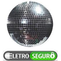 Iluminação Globo Espelhado Giratorio P/ Baladas Bares Festas